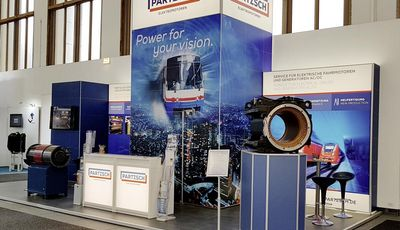 InnoTrans Berlin 2018 - PARTZSCH Messestand
